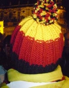 D gedreht Mütze