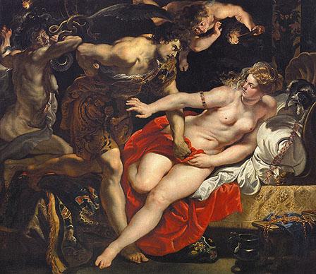 Rubens: Tarquinius und Lucretia (© Wikipedia public domain)