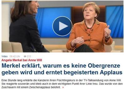 Merkel im Focus
