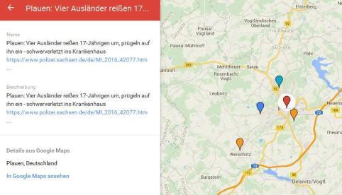 Einzelfall-Map Plauen April