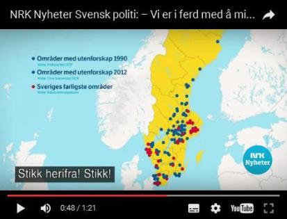 55 Ghettos in Schweden