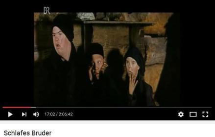 """Szene aus """"Schlafes Bruder""""nach dem Roman von Robert Schneider"""