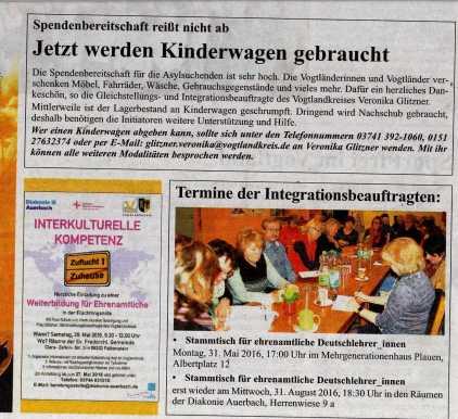 Kreis-Journal Vogtland Mai 2016