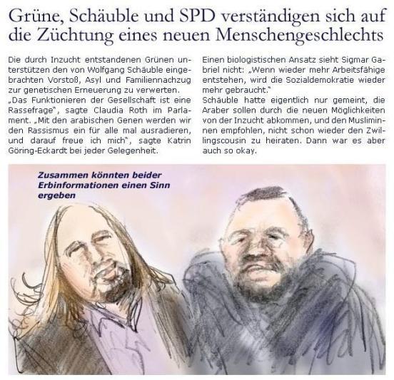 Zugegeben: Man kann es auch mit Humor nehmen! © Die Zeller Zeitung.de