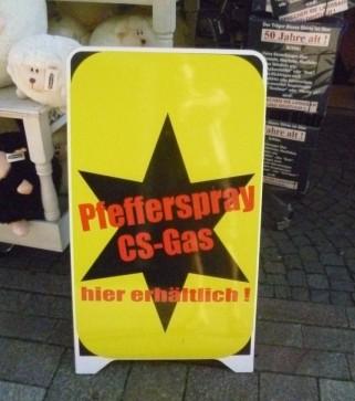 Werbetafel in Eisenach