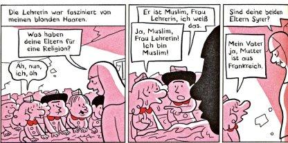 zum Glück kein Jude © Riad Sattouf/Knaus Verlag