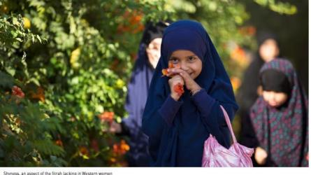 © Dabiq - fitrah als natürliche Scheu des weiblichen Kindes