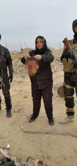 irakische Feministin und Mutter Courage