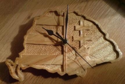 Uhren in den alten Grenzen der Zeit