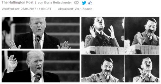einst die Karriere beendendes Sakrileg, heute PC: Hitlervergleich