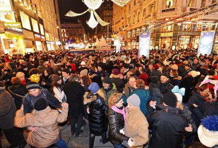 So sah Silvester in Wien aus