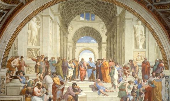 Die Schule von Athen ©Wikipedia (gemeinfrei)