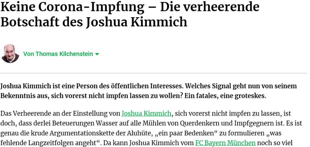 FireShot Capture 683 - Keine Corona-Impfung – Die verheerende Botschaft des Joshua Kimmich -_ - www.fr.de